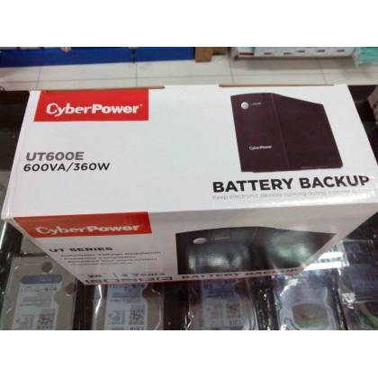CyberPower UT600E (600VA/360W) - Backup UPS / AVR